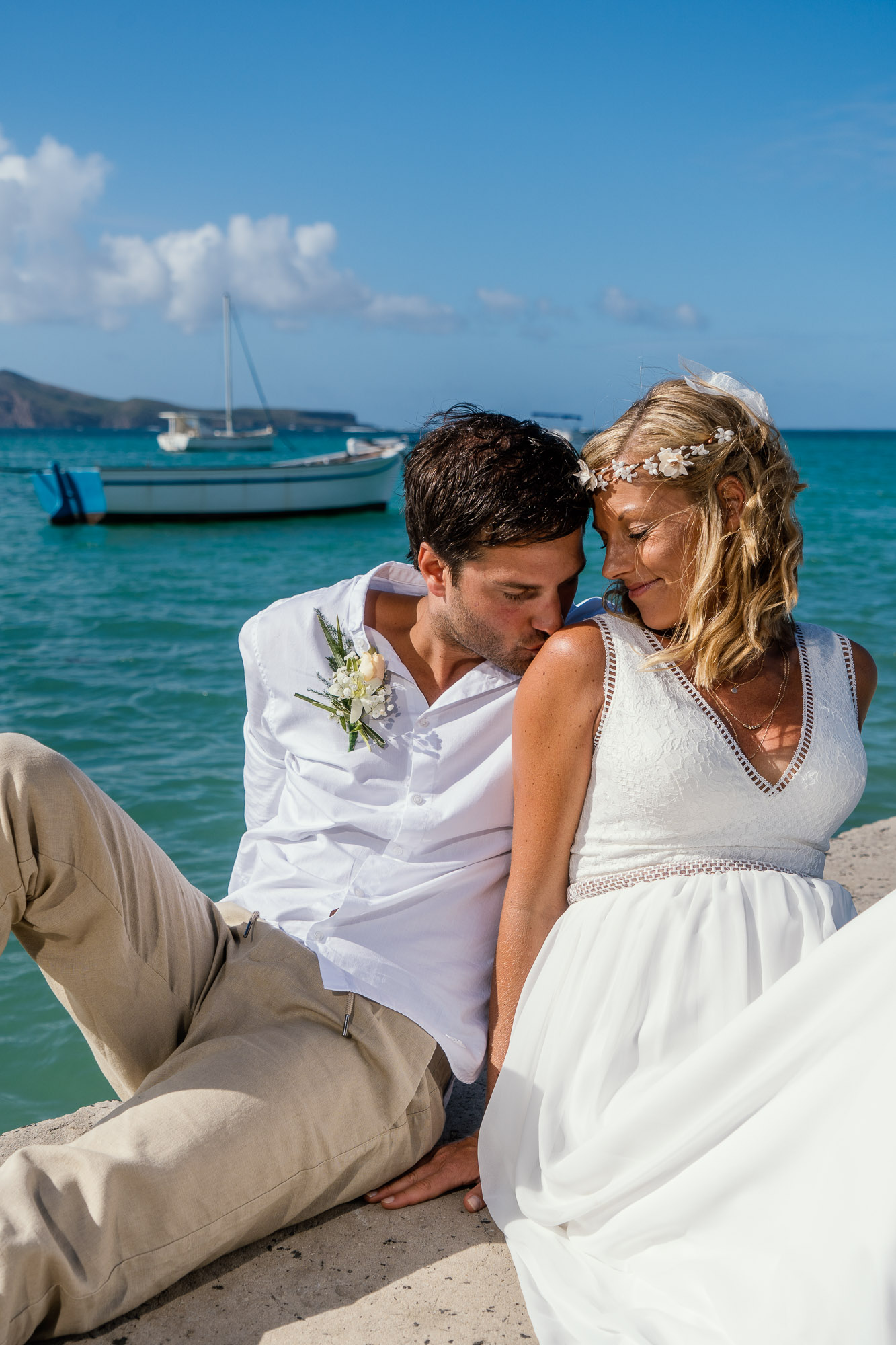 After-Wedding Fotoshooting auf Mauritius