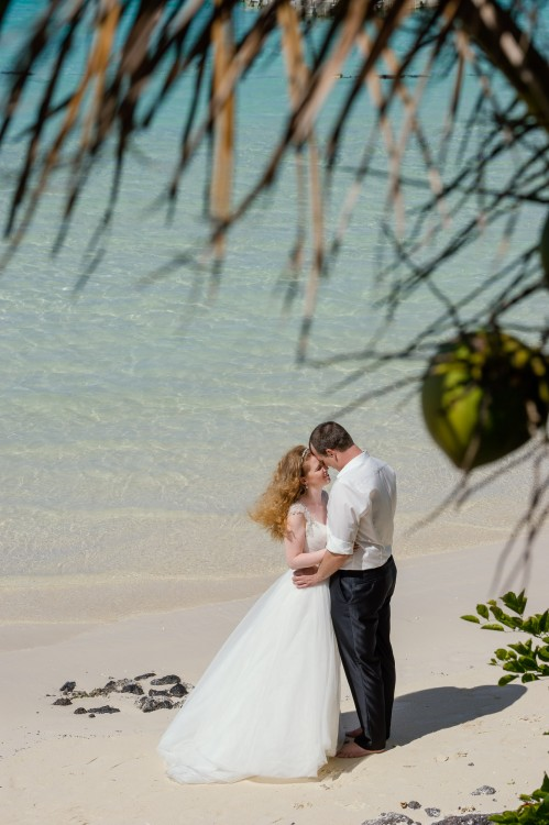 After-Wedding Shooting im LUX Belle Mare, Mauritius